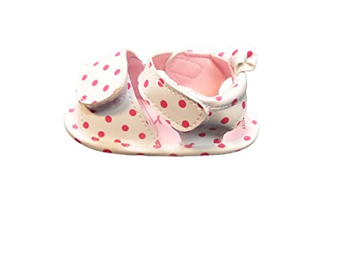 Roxy Polka Dot - Roxy Girls Strappy Sandals (6-12 Months, Polka Dot)