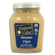 Natural Value B18862 Natural Value Organic Dijon Mustard -12x8oz