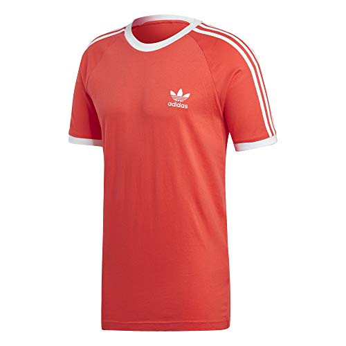 Tee T Rouge 3 shirt T Homme Adidas stripes qS0AwIvwE