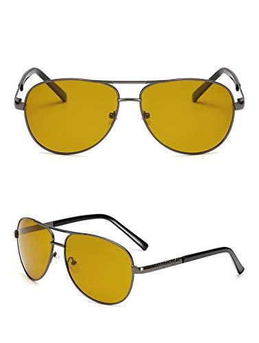 0a5578c5efe Yellow Polarized Sunglasses Men Women Night Vision Goggles Driving Glasses  Driver Aviation Polaroid Sun Glasses UV400  Amazon.in  Clothing    Accessories