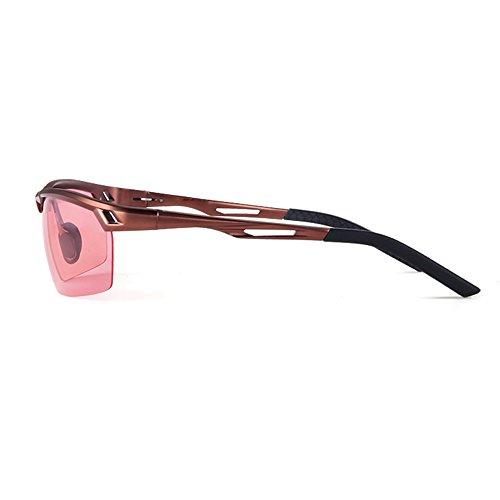 TESITE De pour Protection Lunettes PolariséEs De Hommes PêChe UV 100 Soleil Rose Miroir 5rBrqUxwO