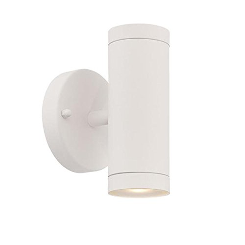 Acclaim 1402TW LED Wall Sconces Collection 2-Light Wall Mount Outdoor Light Fixture Textured White Acclaim Lighting