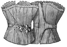 True Grit Costumes (1893 Morning Corset Pattern)