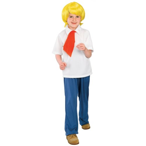 Scooby-Doo Fred Halloween Costume - -