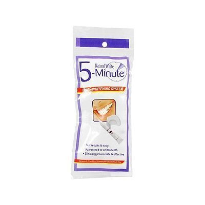 5 Système de blanchiment des dents Natural White Minute