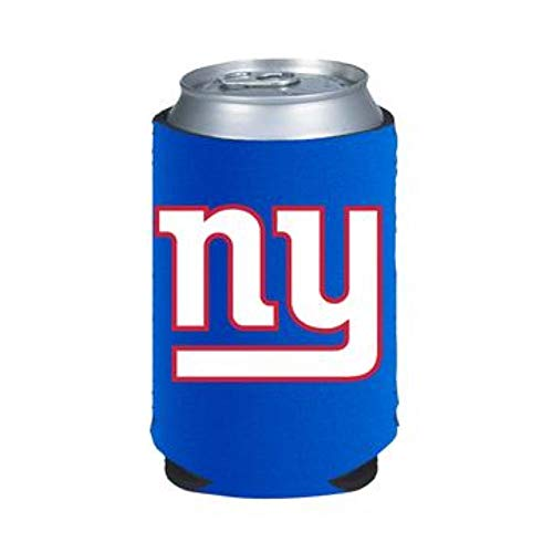 Official National Football League Fan Shop Authentic 2-Pack NFL Insulated 12 Oz Can Cooler (New York Giants)