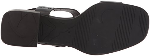 Camper Women's Kobo K200342 Heeled Sandal, Blue Black
