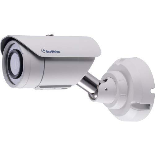 (GeoVision 4MP 3.8mm IR Bullet Camera, White (GV-EBL4702-2F))