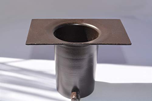 Rain Chain Bronze Aluminum Installation Kit # 90137