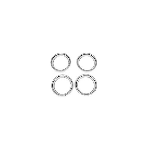 Eckler's Premier Quality Products 85-360871 Nova Or Chevy II Rally Wheel Trim Ring Set, 15 x 7