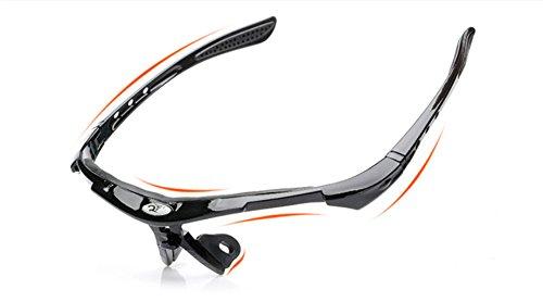 NEGRO PC Montar al para visión Deportes protección Gafas Aire Nocturna Sol contra Libre explosiones fqWOOg6Z