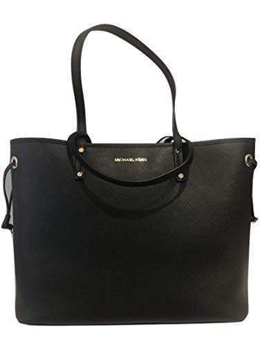 MICHAEL Michael Kors Jet Set Travel Large Drawstring Tote Bag With Pouch - Black