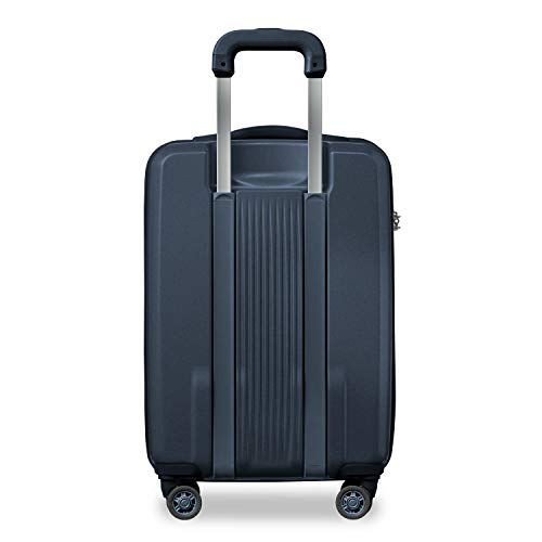 Briggs & Riley Sympatico-Hardside CX Expandable Carry-on Spinner Luggage, Matte Navy, 22-Inch