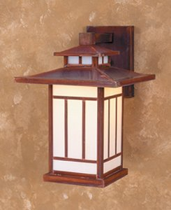 9'' Kennebec Wall Mount Light Fixture by Arroyo Craftsman