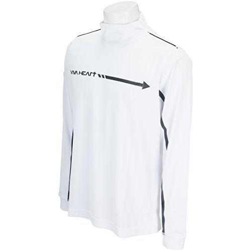 ハイネックシャツ メンズ ビバハート VIVA HEART 2018 春夏 ゴルフウェア M(48) ホワイト(005) 011-37212