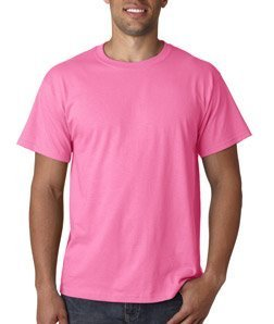 - Fruit of The Loom Heavy Cotton Hd Adult Tee (Neon Pink) (S)