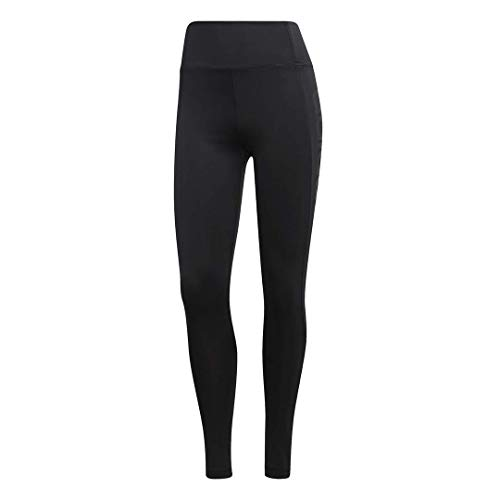 (adidas Women's Designed 2 Move High Rise Logo Long Tights, Black, Small )