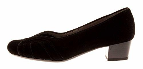 ara Pumps Wildleder Lederpumps Schwarz Moro Damenschuhe Schuhe Schwarz nf4wnxa