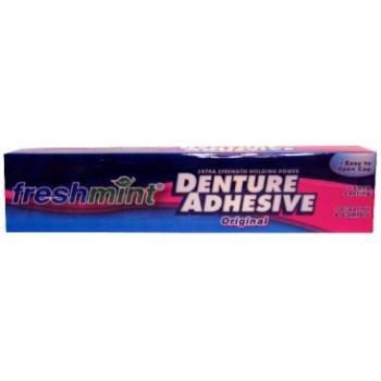 2 oz Freshmint Denture Adhesive 72 pcs sku# 312963MA by DDI