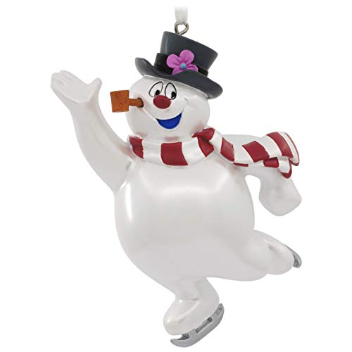 (Hallmark Christmas Ornament Frosty The Snowman Skating)