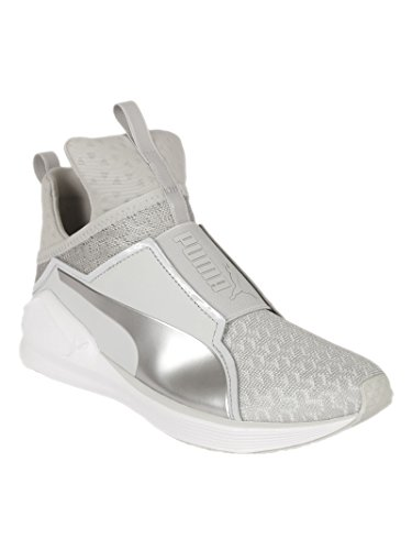 Puma Femme 189417003 Argent/Blanc Polyamide Chaussures De Skate