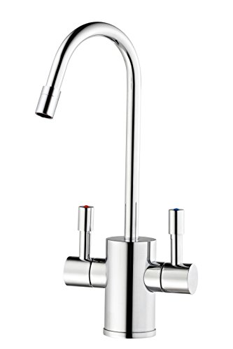 Ready Hot RH-F560-CH Dual Lever Faucet for Hot and Cold Water, Chrome Finish