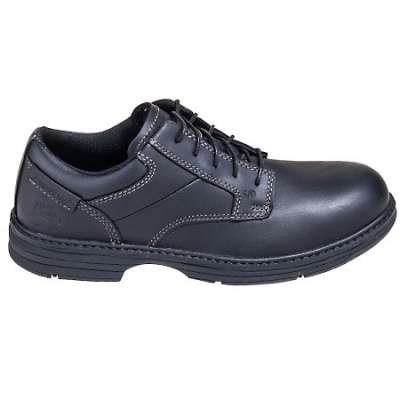 Caterpillar Men's Black 90015 Steel Toe ESD Oversee Oxford Work Shoes