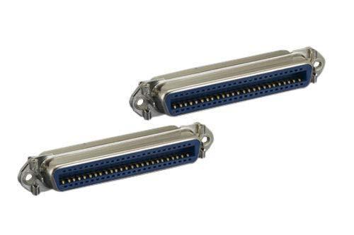 Kentek CN50 50 Pin Female to Female F/F SCSI Centronics Mini Adapter Gender Changer Coupler