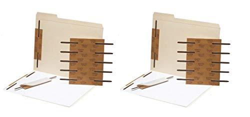 Smead Self-Adhesive Metal Fastener, Reinforced, 2