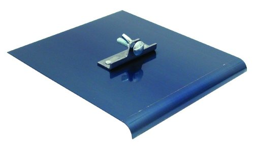 QLT By MARSHALLTOWN 3754 1/4-Inch Radius, 3/8-Inch Lip 9-Inch by 6-Inch Blue Stainless Steel Walking Edger