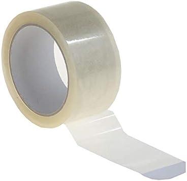 P50 del paquete cinta adhesiva 50 mm x 66 m Premium Pack de banda cinta adhesiva del paquete: Amazon.es: Bricolaje y herramientas