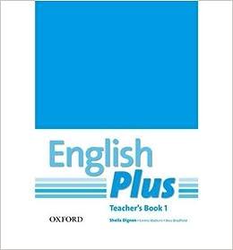 1 english teachers book plus