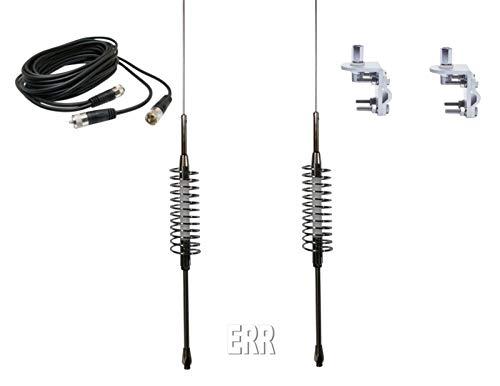 - Dual Tram SP 63 CB - Ham Radio Antennas - Dual CO Phase RG59 Coax - Brackets & Studs