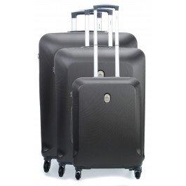 Delsey Biela Set Set di valigie grigio scuro