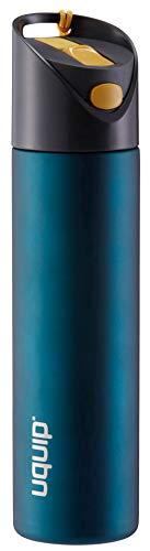 Uquip Edelstahl Trinkflasche Activity Steel – 700ml Sport Wasserflasche