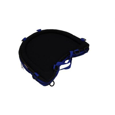 Trabasack Curve - Trabasack Curve Connect Wheelchair VELCRO® Brand Covered Lap Tray and Storage Bag Trim Color: Blue