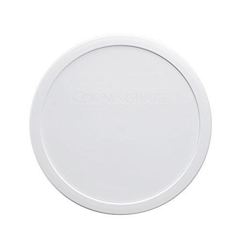 White Replacement Lids - Corningware French White 2.5 Quart Round Plastic Lid Cover