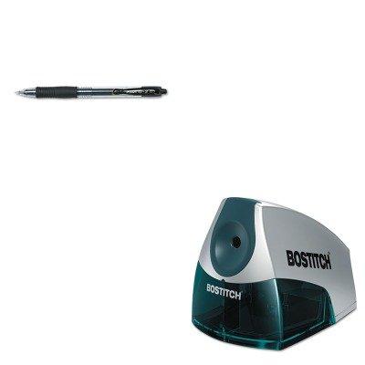 (KITBOSEPS4BLUEPIL31020 - Value Kit - Stanley Bostitch Compact Desktop Electric Pencil Sharpener (BOSEPS4BLUE) and Pilot G2 Gel Ink Pen (PIL31020))