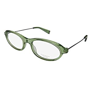 Oliver Peoples Dabi Womens/Ladies Designer Full-rim Eyeglasses/Spectacles (50-20-140, Transparent Green / Gray)