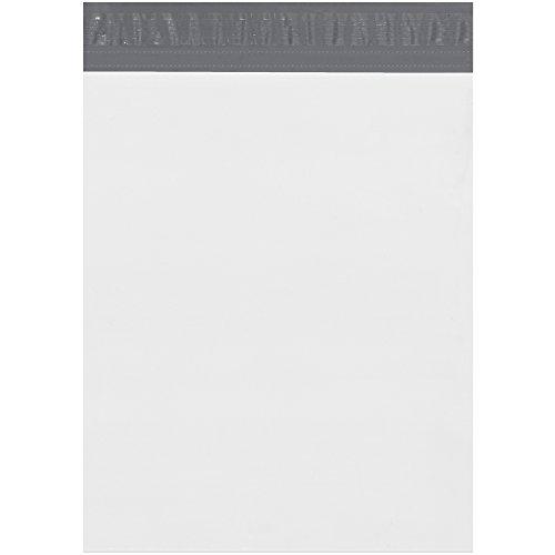 박스 BFEPM13164 확장 폴리 메일러, 13 x 16 x 4, 화이트 (100 개 ..