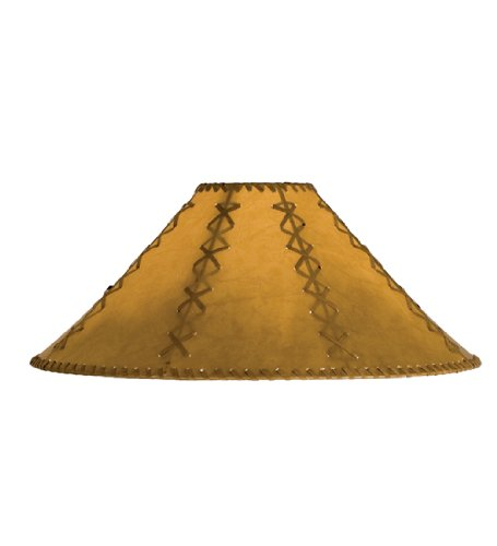 Hexagon Faux Leather Replacement Shade by Meyda