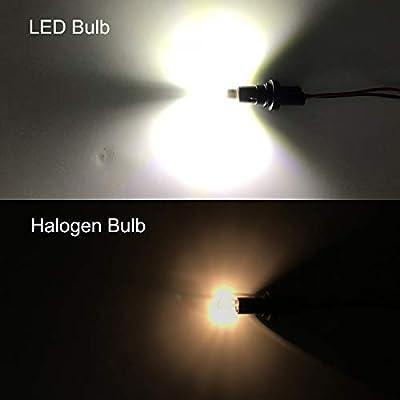 194 LED Bulb 3030 Chipset 2SMD T10 194 168 W5W LED Wedge Light Bulb 1.5W 12V License Plate Light Courtesy Step Light Turn Signal Light Trunk Lamp Clearance Lights (6pcs/pack): Automotive