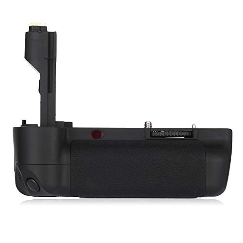 Powerextra BG-E6 Vertical Battery Grip + AA-Size Battery Holder for Canon EOS 5D Mark II Digital SLR Camera Work with 2 pcs LP-E6/LP-E6N or 6 AA-Size Batteries