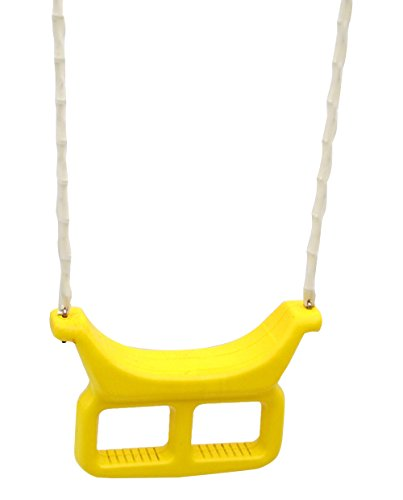 Flexible Flyer Shoe Loop Swing, Yellow