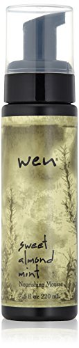 WEN by Chaz Dean Sweet Almond Mint Nourishing Mousse, 7.5 fl. oz.