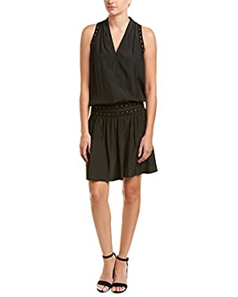 Ramy Brook Womens Mannie Shift Dress, M, Black