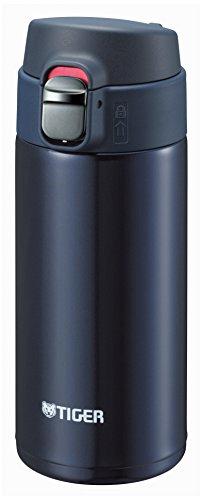 Tiger Water Bottle 360ml Stainless Mini Bottle SAHARA Mug Lightweight MUJURYOKU Blue Black - Bottle 360 Ml