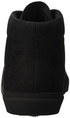 Bikkembergs Rubb-er 750 Mid Shoe M Suede, Zapatillas Altas para Hombre negro