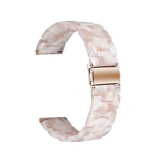 ⌚ Sport Band For Apple Watch 3/4 watch band 38mm 40mm 44mm 42mm ➽♔ Sunbona Waterproof Luxury Tortoise Shell Resin Watch Bands Strap Bracelet 42mm Dirt Resistant 4/3/2/1 (D) ()