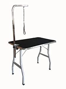 "36"" New Large Adjustable Pet Dog Cat Grooming Table With Arm/Noose"